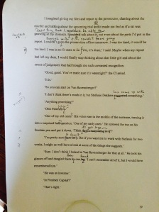 Just an example page with Joan's notes. Most pages looked like this.